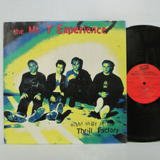 THE MR. T EXPERIENCE - Night Shift At The Thrill Factory LP 1996 LOOKOUT NOFX