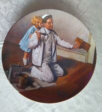 New Listing1983 Norman Rockwell The Painter Knowles Collector Plate Free Shipping