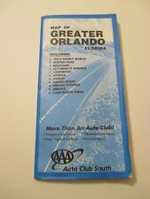 AAA City Street Map of Greater Orlando Florida Road Maps