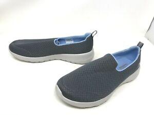 Womens Skechers (15635W) GOwalk Joy Rejoice charcoal wide walking shoes (406K)