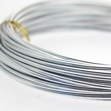 Silver FLORISTRY Craft Wire 10m 39' Oasis 2mm Aluminium strong but mouldable