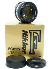 Nikon AIS 50mm f 1.4 AI-S primo LENS * molto NEAR MINT CONDITION * utilizzare con DSLR