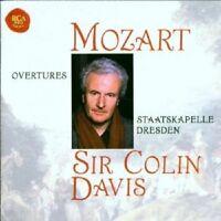 SIR COLIN DAVIS/STAATSKAPELLE DRESDEN - MOZART-OVERTURES  CD 16 TRACKS NEU