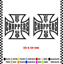 PEGATINA/STICKER/DECAL/AUFKLEBER/VINYL WEST COAST CHOPPERS MOTORCYCLE