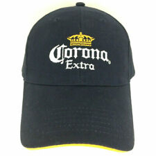 Corona Extra Cap Beer Hat Logo Bar Retro Strap Back Baseball Trucker Navy Blue