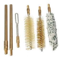 9mm Pistol Hand Gun Cleaning Kit 7pcs Brushes Brass Rods Cleaner Brush Set