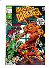 Chamber Of Darkness No.7  : 1970 :   : 1st Wrightson Work At Marvel! :