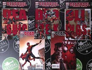 Deadpool Suicide Kings #1-5 2009 Marvel Connecting Variants Spider-Man Daredevil