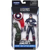 Marvel Legends SECRET WAR CAPTAIN AMERICA Figure BAF Abomination Hasbro Avengers