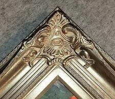 """5"""" Antique Silver Leaf Ornate photo Oil Painting Wood Picture Frame 801S 24x36"""