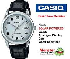 AUSTRALIAN SELLER CASIO MTP-VS01L-7B1D SOLAR POWERED WITH DATE 12 MONTH WARRANTY
