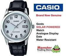 CASIO WATCH MTP-VS01L-7B1D SOLAR POWERED WITH DATE 12 MONTH WARRANTY