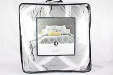 Hotel Collection Lancet KING Comforter Gray/White U560