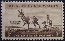 Stamp US 3c Pronghorn Antelope, Cat. #1078 Mint NH/OG