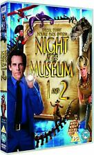 Night at the Museum 1 & 2  Set  - DVD  -  (Brand New)