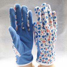 NEW 1 Pair Gardening Women Soft Jersey Garden Gloves One Size 2016 HU