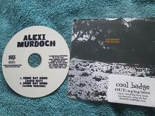 Alexi Murdoch  Some Day Soon City Slang SLANG0680165PSINGLE UK Promo CD Single