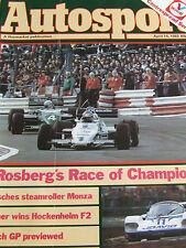 AUTOSPORT MAGAZINE APR 14 1983 ROSBERG'S RACE OF CHAMPIONS PORSCHE MONZA BROOKES