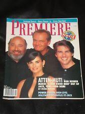 PREMIERE magazine 1993, Demi Moore, Jack Nicholson, Tom Cruise, Robert Downey Jr