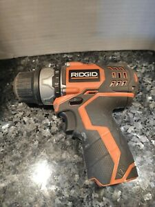 "RIDGID 12V POD-STYLE 3/8"" DRILL/DRIVER - MODEL#R82009 Tool only"
