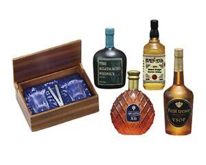 Re-ment Miniature Japan Fuji Hotel Liquor Store XO Whiskey Glass Rum - No.8