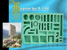 Silikonform Spur N, Burgruine Falknersberg