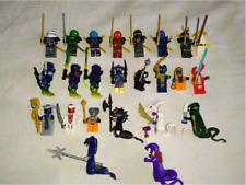 Collection 24 Pcs lego MOC Ninjago Evil Ninja Pythor Chop'rai Mezmo Snake Toys