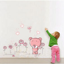 Removable Bear Wall Sticker Home Decor Nursery boy girl Kid Room Baby STICKER