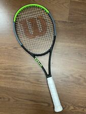 "New listing Wilson Blade 98 16x19 v7 4 1/2"" Tennis Racquet"