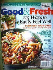 Better Homes & Gardens Magazine GOOD & FRESH Winter 2015 Easy Ways Eat Right