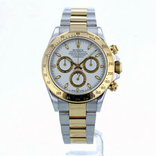ROLEX DAYTONA 116523 40MM WHITE DIAL BOX/PAPERS/12 MONTH GUARANTEE 2003