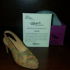 "Just the Right Shoe, Raine ""Autumn"" mixed media miniature #25070 Nib Coa"