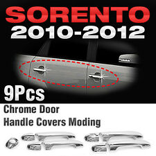 for KIA 2010 - 2012 Sorento R Chrome Side Door Handle Covers Molding Trim B804
