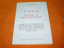 danielou yoga metodo di reintegrazione 1974