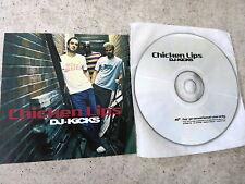 CHICKEN LIPS – DJ-Kicks  Promo-Advanced-CD  Studio !K7 – !K7155 CD