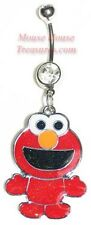 SESAME STREET BABY ELMO DANGLE NAVEL BELLY RING
