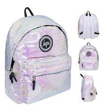 Hype Backpack Sequin white