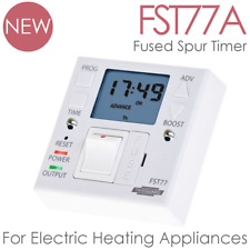 Fused Spur Timer For Electric Heated Towel Rails, Panel Heaters, Boilers FST77A