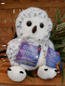 Russ Berrie Shining Stars Snowy Owl Brand New With Sealed Code Tag.