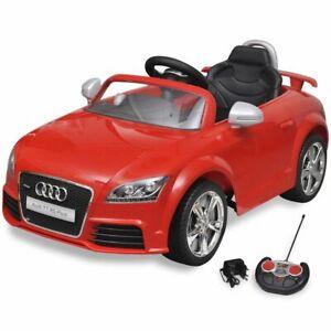 Audi TT RS Aufsitz-Auto für Kinder mit Fernsteuerung ROT
