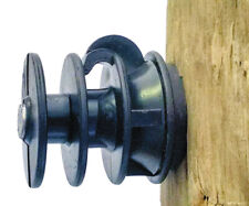 Fi-Shock Dare Products Electric Fence Insulator Black