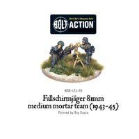 Warlord Games Bolt Action World War 2 Fallschirmjager 81 Medium Mortar Team -