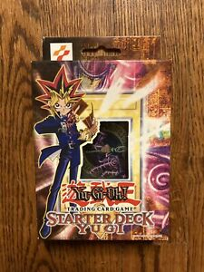 SEALED 1996 Original YuGIOh Yugi Starter Deck  -  Unopened - Rare