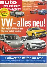 Ungelesen! Auto Motor Sport 20/2018 AUDI Q2 BMW X2 MAZDA MX-5