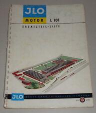 Teilekatalog / Ersatzteilliste ILO Motor L 101
