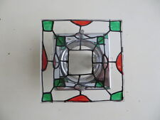 VINTAGE STYLE ART DECO STAINED GLASS RECESSED LED DOWNLIGHT SPOTLIGHT SURROUND