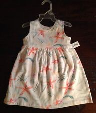 NWT 3-6 MON. ADORABLE OLD NAVY TROPICAL PRINT DRESS GIRLS TWINS BABY GIRL GIFT!