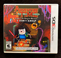 Adventure Time: Explore the Dungeon Because I Don't Know (Nintendo 3DS, 2013)