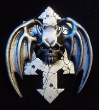 40k Space Marines Chaos Night Lords Legion badge pin