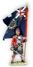 King & Country - BR29 - 42nd Highlander Officer with Flag - New in box